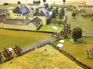 General de Brigade 25mm Napoleonic Game @ Table 1