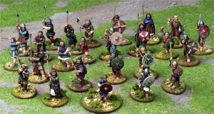 Dark Age Battle - Dux Bellorum @ Table 4