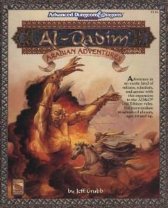Dungeons and Dragons 2e Al Quadim  @ Table 2