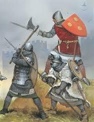 Medievals  - Danish V's German 15mm @Table2