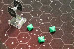 x-Wing green dice