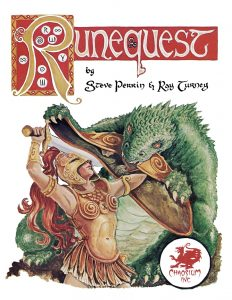 RuneQuest 2nd Edition @ Table 2